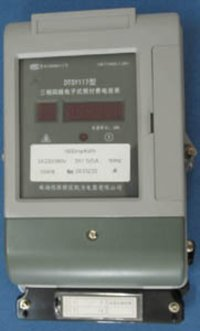Three-Phase Four-Wire Electric Meter