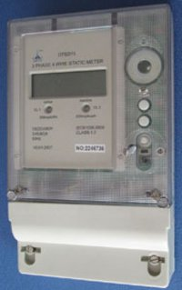 Three Phase Four Wire Multifunction Electronic Meter
