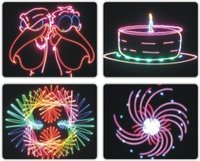 Full Color Laser Rgb Animation Laser Show Equipment