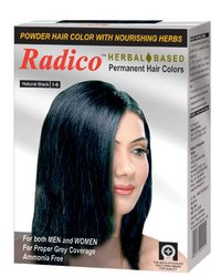 Herbal Based Permanent Hair Colors