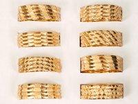 Gold Plating Antique Bangles