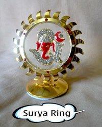 Sun Ring Om Ganesh