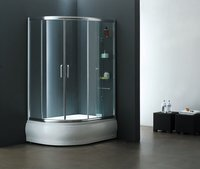 LN Sector-Shaped Sliding Door Shower Room