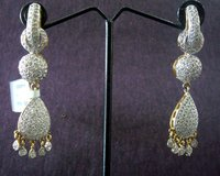 American Diamond Artificial Earrings