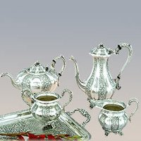 Silver Tea And Coffee Sets