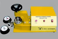 Bursting Strength Tester With Double Pressure Gauze