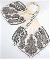 Silk Embroidered Scarves