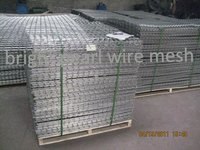 Galfan Galvanized Welded Mesh Panels