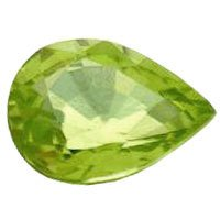 Peridot Cut Pear Stone