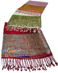 Embroidered Silk Shawls
