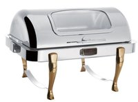 Rectangular Roll Top Chafing Dishes