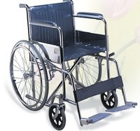 Folding Imported Steel Wheelchair