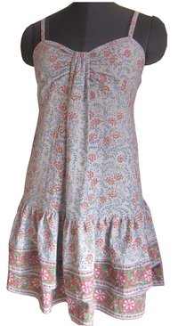 Block Printed Cotton Dress