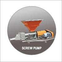 Cement Feeding Screw Pump