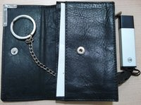 Key Holder With Pen Drive Pocket