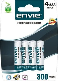 4 X Aaa 300 Rechargeable Batteries