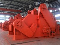 Hydraulic Mooring Winch With Double Drums In Waterfall