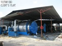 Waste Tyres Pyrolysis Machine
