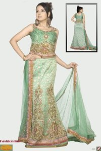 Hand Embroidered Lehenga Choli