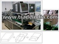 Paper Bag Bottom Gluing Machine