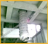 Fuel Ash Collector Fabric Expansion Joint