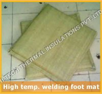 High Temperature Welding Foot Mat