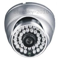 Color Vandal-Proof Dome CCD Camera