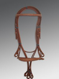 BD-09 English Bridle With Fancy Stitching