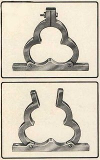 Aluminum Trefoil Clamp Cleat