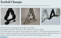 Nylon Trefoil Clamp Cleat
