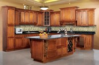 Wood Maple Kitchen Cabinet