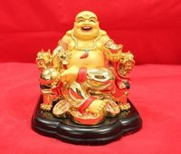Laughing Buddha Sculpture