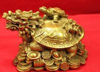 Dragon Head Turtle Sculpture