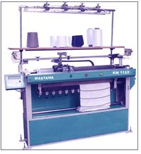 Computerized Collar Flat Knitting Machine