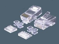 Cat.6 8P8C RJ45 Modular Plugs With insert & Cross parts