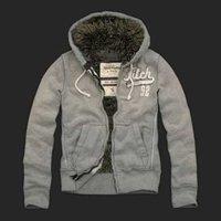 Men'S Coat Fur Hoodie Winter Fashion Outerwear