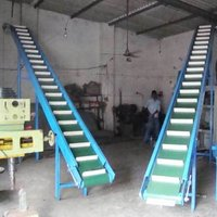 Inclined Clited Belt Conveyor