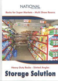 Super Market Slotted Rack