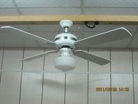 DC 12V - 24V Ceiling Fans With Solar Energy