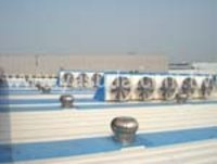Negative Pressure Ventilation Roof Fan