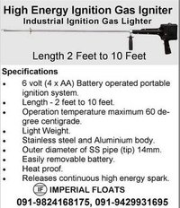 Industrial Ignition Gas Lighter