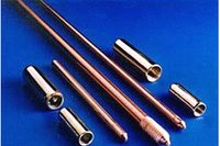 Copper Bonded Earth Rod, Solid Copper Rod, Earth Rods