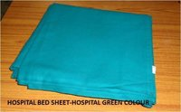 Hospital Bed Sheet- Hospital Green Colour