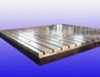 Cast Iron T Slotted Floor Plate