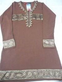 Embroidery Woollen Kurta