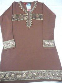 Embroidery Woollen Kurta