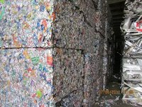 Used Beverage Cans Scraps