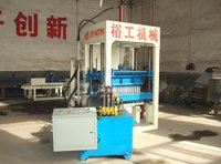 Qt4-20 Semi-Automatic Fly Ash Brick Forming Machine