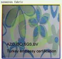 100% Printed Non Woven Fabric