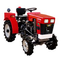 Captain Mini Tractor DI 2600 4WD
